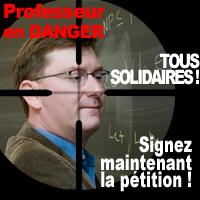 Solidarité avec le professeur agressé à Juvignac