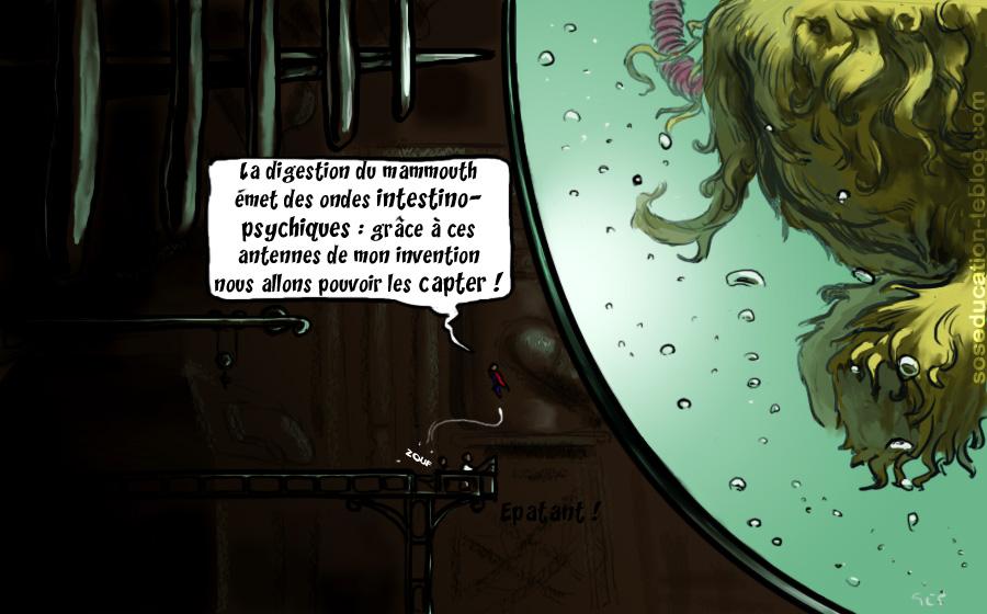 Dessin d'Éric Galland
