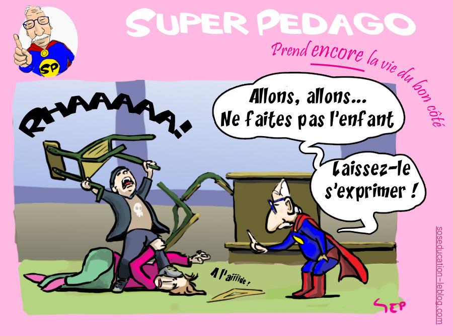 SP Pédago laisse les enfants s'exprimer...