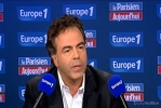 Luc de Chatel, lors de son intervention d'hier à Europe 1