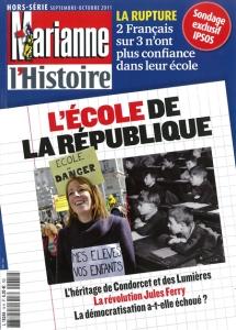 "Couverture ""Marianne l'histoire"" hors-serie sept.-oct. 2011"